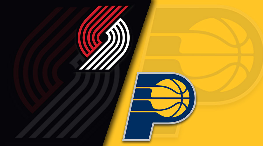 Portland Trail Blazers vs Indiana Pacers