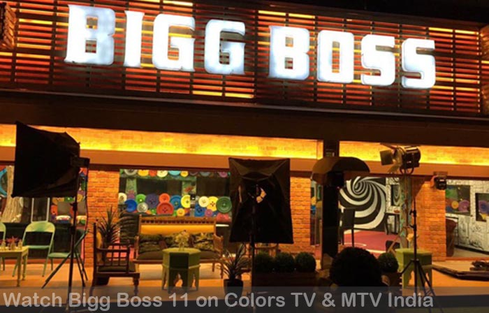 Watch Bigg Boss 11 on Colors TV & MTV India