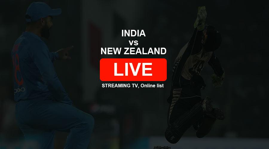 India vs New Zealand Live Streaming