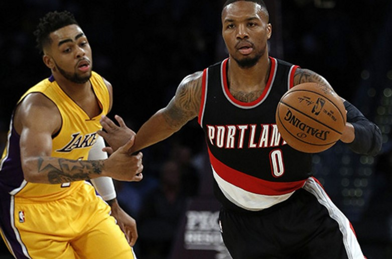 Los Angeles Lakers @ Portland Trail Blazers Live Streaming NBA Regular 2017-18