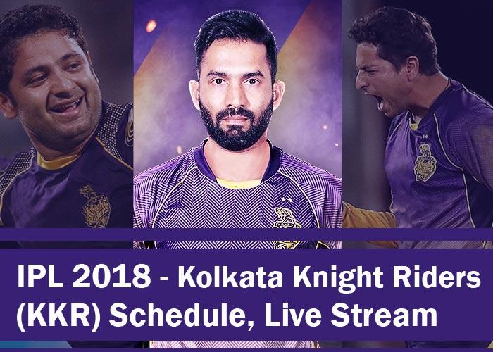 Kolkata Knight Riders - KKR 2018 - IPL 2018