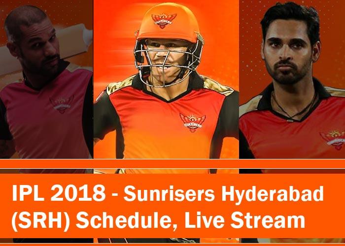Sunrisers Hyderabad 2018 - SRH 2018 - IPL 2018