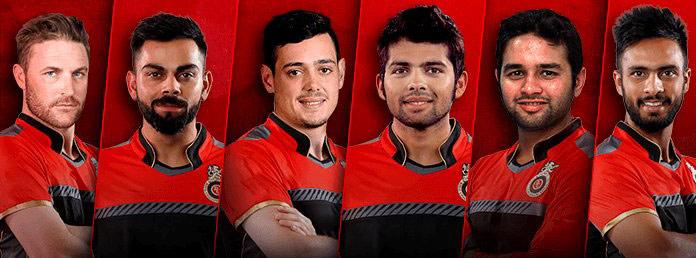 IPL 2018 RCB Jersey