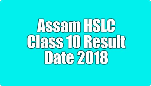 SEBA Assam HSLC Class 10thResults2018