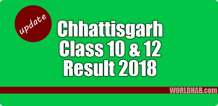 Chhattisgarh CG Class 10, 12 results 2018