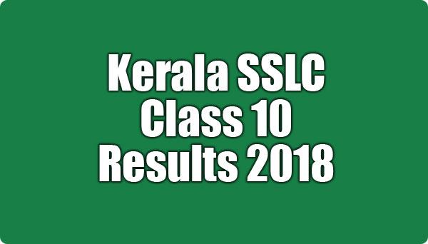 Kerala SSLC Result 2018