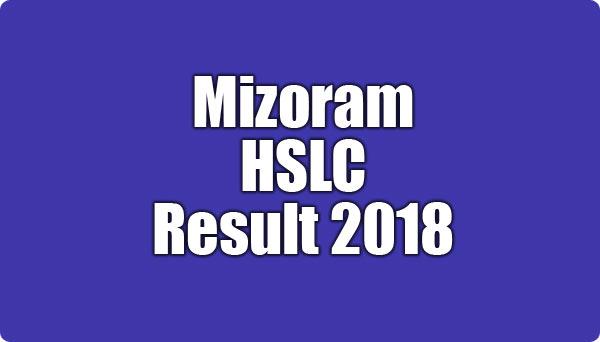 Mizoram HSLC Result 2018