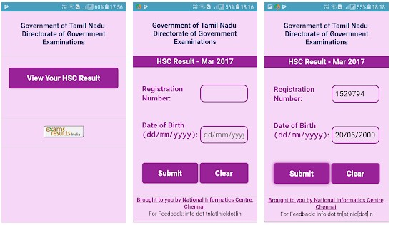 TN +2 HSC Results 2018