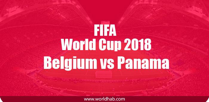 Belgium vs Panama