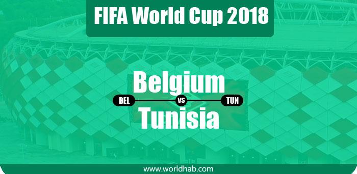 Belgium vs Tunisia Live