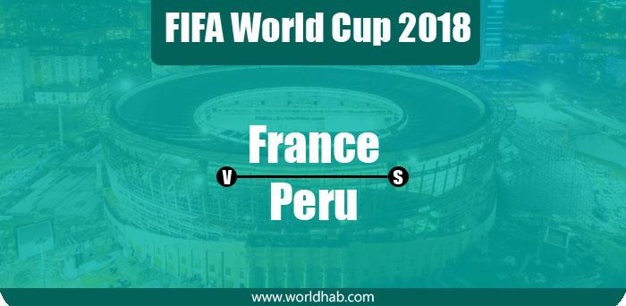 France vs Peru