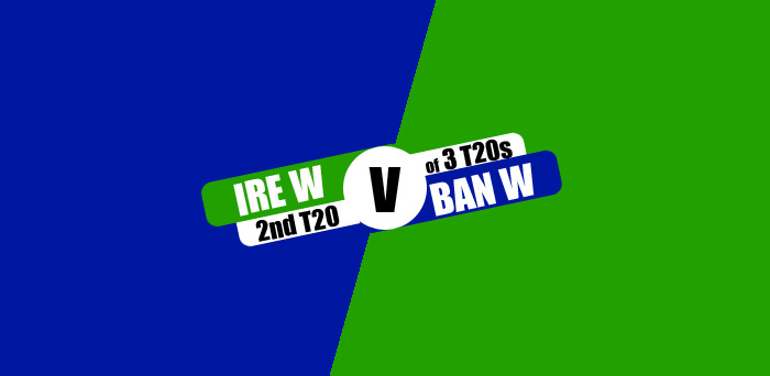 IREW vs BANW 2nd T20 Live