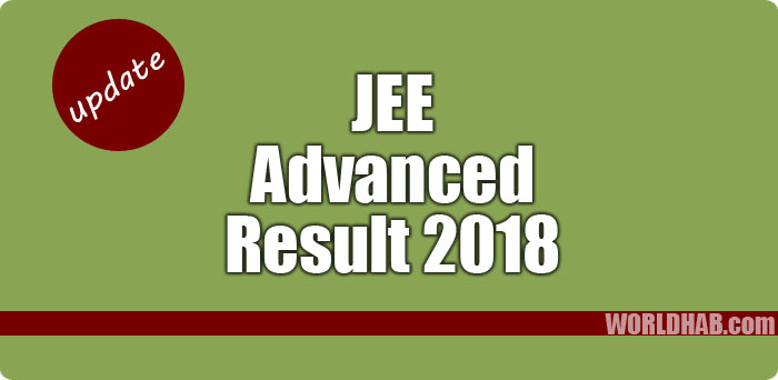 JEE Advanced result 2018