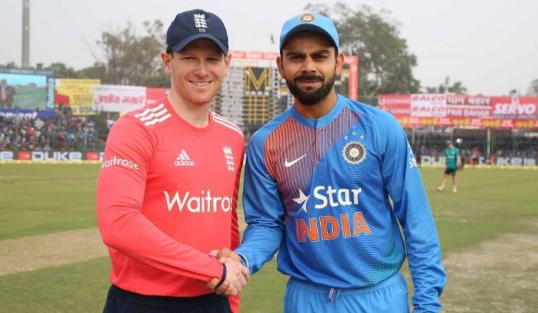 England vs India Live Cricket Score