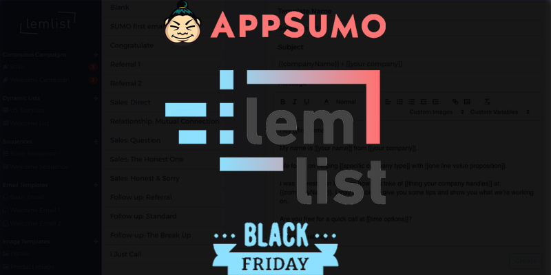 Lemlist Review AppSumo Lifetime Access Offer
