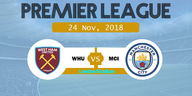 West Ham United vs Manchester City