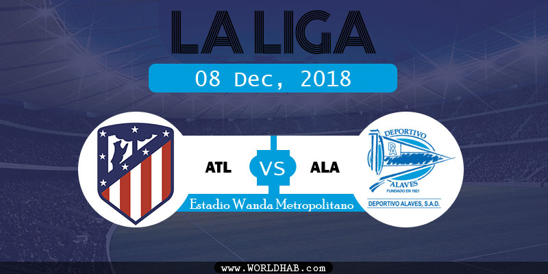 Atletico Madrid vd Alaves