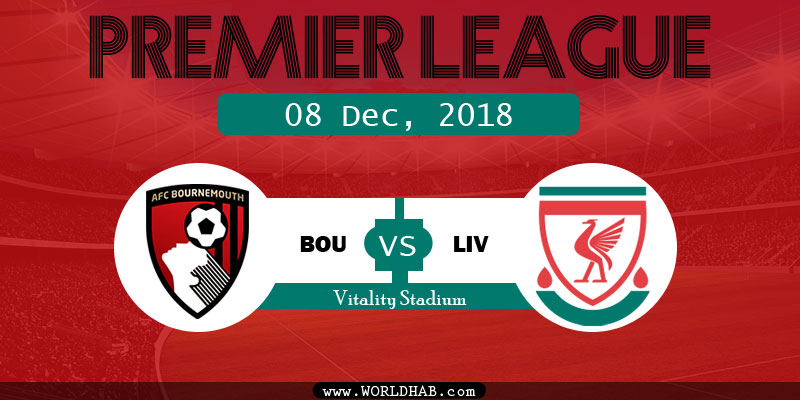 Bournemouth vs Liverpool - BOU vs LIV