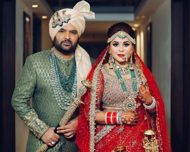 Kapil Sharma ties knot with Ginni Chatrath