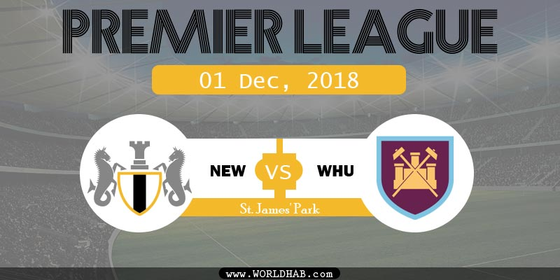 Newcastle United vs West Ham United